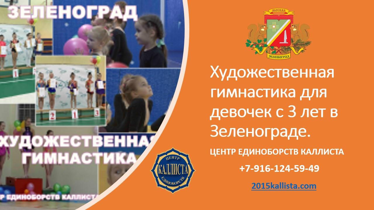 Зеленоград. Художественная гимнастика для девочек.